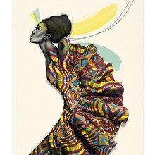 Картина (репродукция, постер): African beauty No. 5 - Сабин Пайпер