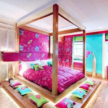 Фото из портфолио Кровати из дерева – фотографии дизайна интерьеров на InMyRoom.ru