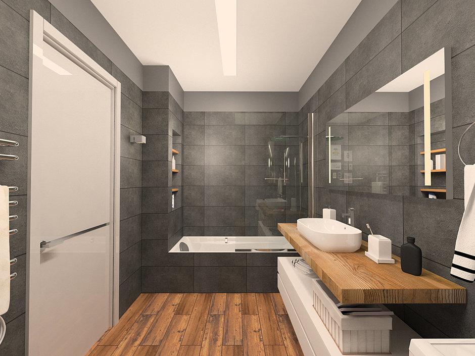 Фотография: Ванная в стиле Лофт,  – фото на InMyRoom.ru