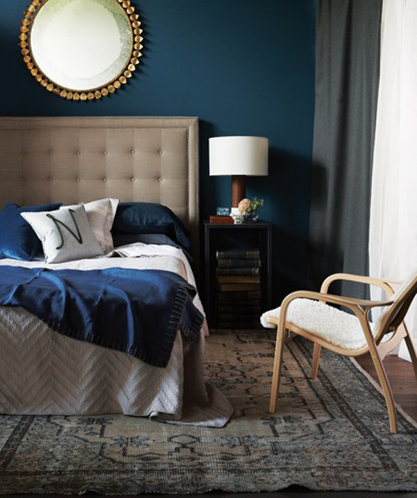 Фотография: Спальня в стиле Современный, Интерьер комнат, Цвет в интерьере, Советы – фото на InMyRoom.ru