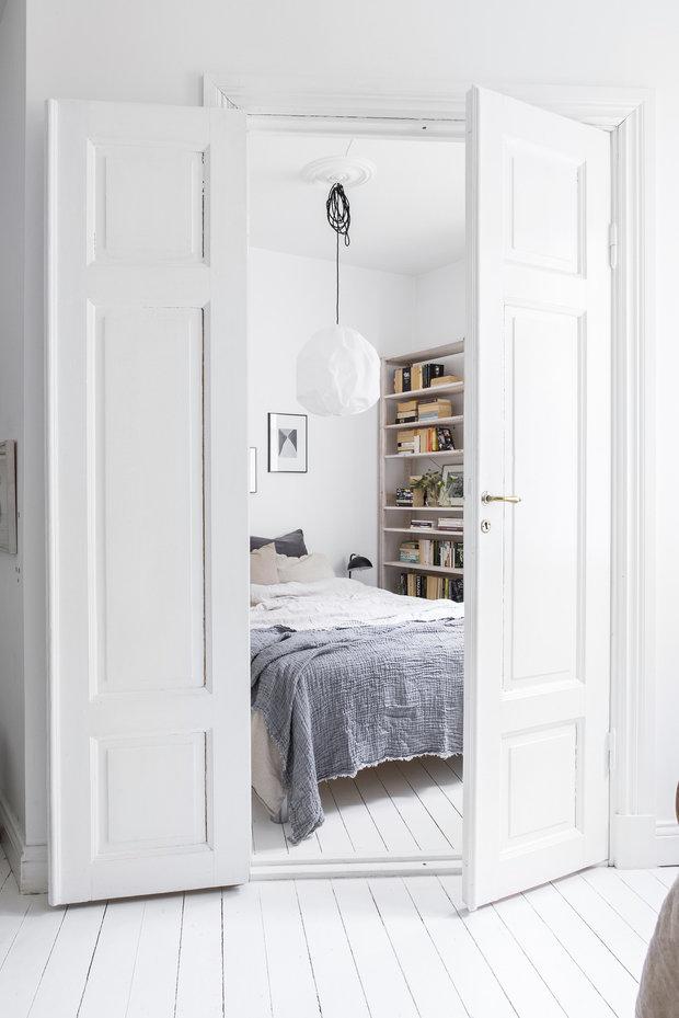 Фотография:  в стиле , Скандинавский, Декор интерьера, Квартира, Швеция, Белый, Гетеборг, 2 комнаты, 40-60 метров – фото на InMyRoom.ru