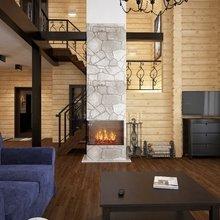 Фото из портфолио интерьер деревянного дома – фотографии дизайна интерьеров на InMyRoom.ru