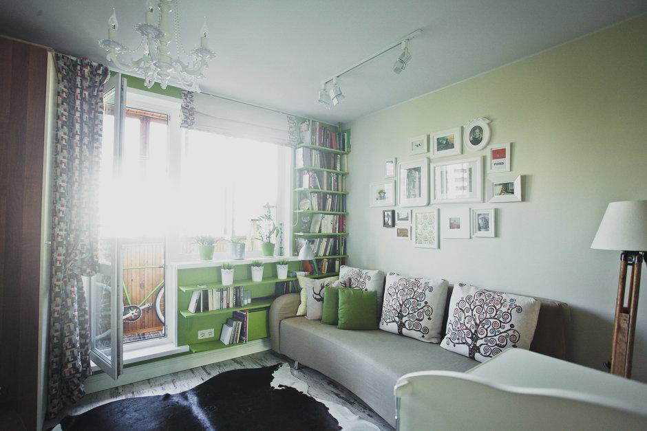 Фотография: Гостиная в стиле Скандинавский, DIY, Квартира, Дома и квартиры, IKEA – фото на InMyRoom.ru