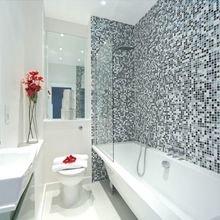 Фотография: Ванная в стиле Современный, Декор интерьера, Малогабаритная квартира, Квартира, Дома и квартиры, Лондон, Квартиры – фото на InMyRoom.ru