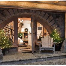 Фотография: Терраса в стиле Эко, Дом, Дома и квартиры – фото на InMyRoom.ru