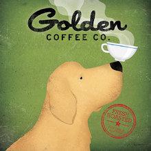 Картина (репродукция, постер): Golden Coffee Co