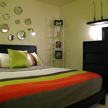 Фотография: Спальня в стиле Современный, Декор интерьера, DIY, Цвет в интерьере, Стиль жизни, Советы, Белый, Зеркала – фото на InMyRoom.ru