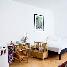 Фото из портфолио Многофункциональная 1-комнатная квартира – фотографии дизайна интерьеров на InMyRoom.ru