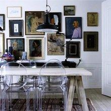 Фотография: Кухня и столовая в стиле Эклектика, Интерьер комнат, Обеденная зона – фото на InMyRoom.ru