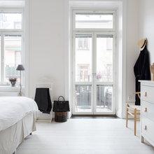 Фото из портфолио Яркие акценты в белом интерьере – фотографии дизайна интерьеров на INMYROOM
