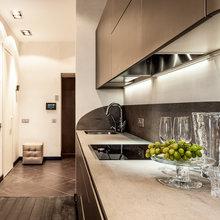 Фотография: Кухня и столовая в стиле Современный, Квартира, Дома и квартиры, Roommy.ru, Porada – фото на InMyRoom.ru