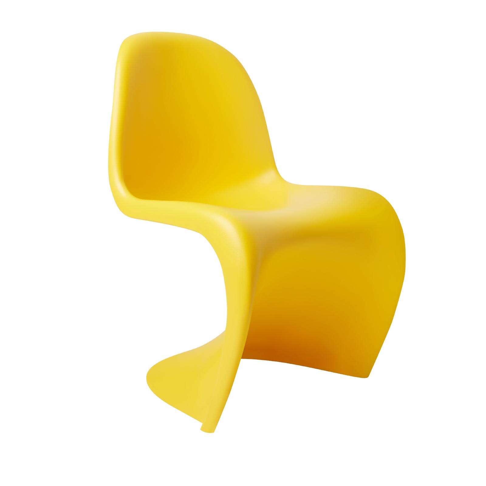 Детский стул Pantone красный (цвет: жёлтый)