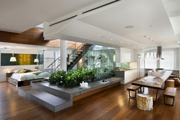 Фотография: Кухня и столовая в стиле Лофт, Квартира, Дома и квартиры, Фитостены – фото на InMyRoom.ru