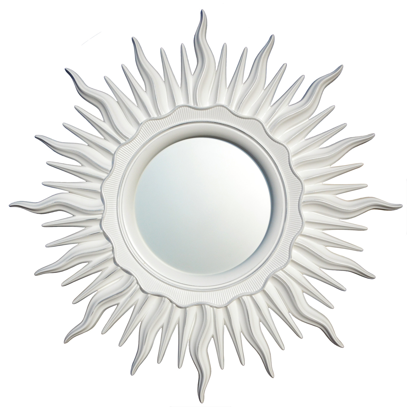 inmyroom / Зеркало ринд белое серебро