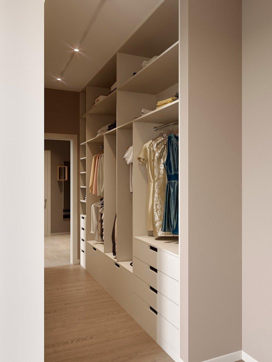 Фотография: Гардеробная в стиле Современный, Miele, Проект недели, 2 комнаты – фото на InMyRoom.ru