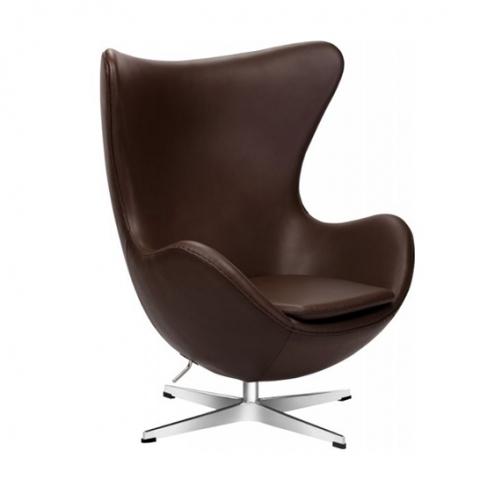 Кресло Egg Leather Delux