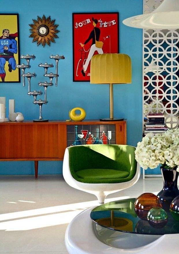 Фотография: Гостиная в стиле Эклектика, Классический, Декор интерьера, Аксессуары, Декор – фото на InMyRoom.ru