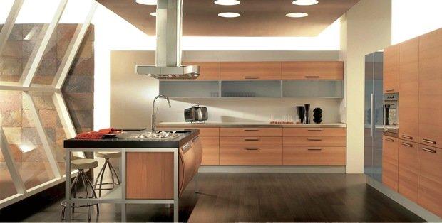 Фотография: Кухня и столовая в стиле Лофт, Современный, Интерьер комнат – фото на InMyRoom.ru