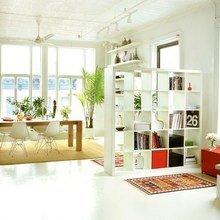 Фотография: Кухня и столовая в стиле Скандинавский, Декор интерьера, Декор дома, Ширма, Перегородки – фото на InMyRoom.ru