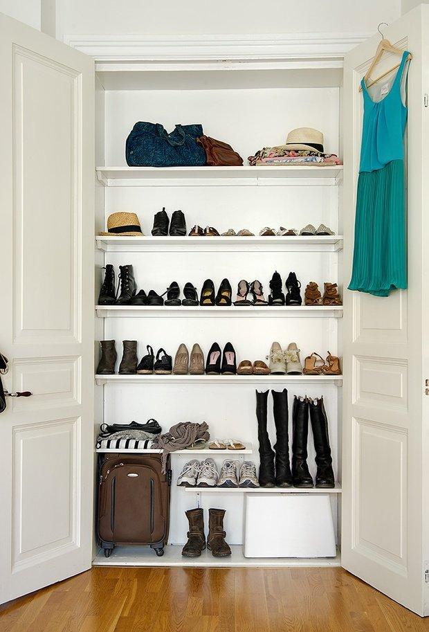 Фотография: Офис в стиле Современный, Прихожая, Советы, хранение обуви, идеи хранения обуви – фото на InMyRoom.ru