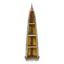 """Стеллаж """"Дали"""" из старой рыбацкой лодки"""
