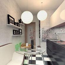 Фотография: Кухня и столовая в стиле Современный, Интерьер комнат, Советы – фото на InMyRoom.ru