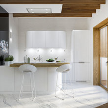 Фото из портфолио Кухни - визуализации – фотографии дизайна интерьеров на INMYROOM