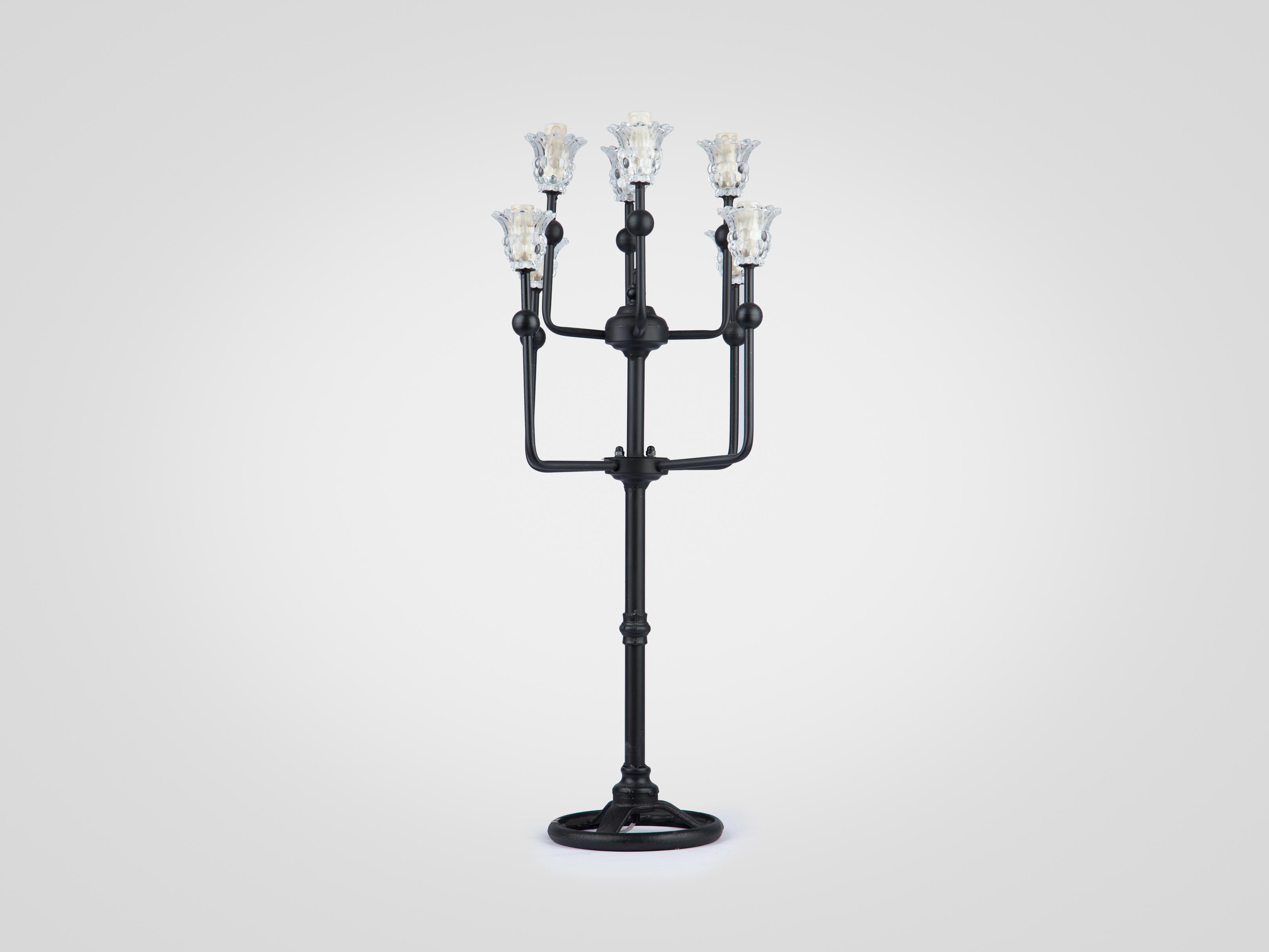 Купить Настольная лампа Канделябр на металлической ножке, inmyroom, Китай