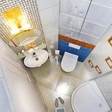 Фото из портфолио Санузел гостевой. Трехкомнатная квартира – фотографии дизайна интерьеров на INMYROOM