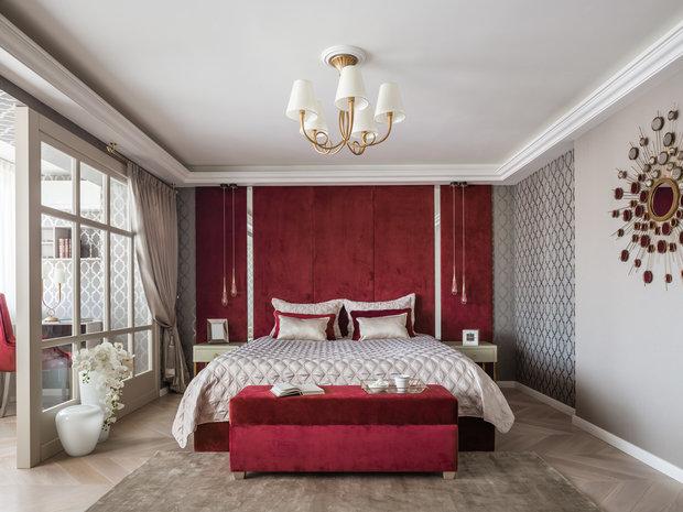Фотография: Спальня в стиле Классический, Современный, Квартира, Проект недели, Самара, Artek Design Studio, 4 и больше, Более 90 метров, Оксана Агапонова – фото на INMYROOM
