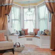 Фотография: Декор в стиле Кантри, Спальня, Гардеробная, Декор интерьера, Интерьер комнат, Системы хранения, Кровать, Гардероб – фото на InMyRoom.ru