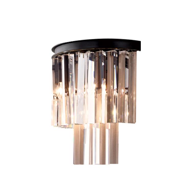 Купить Настенный светильник Odeon Black/Clear из прозрачного стекла, inmyroom, Китай