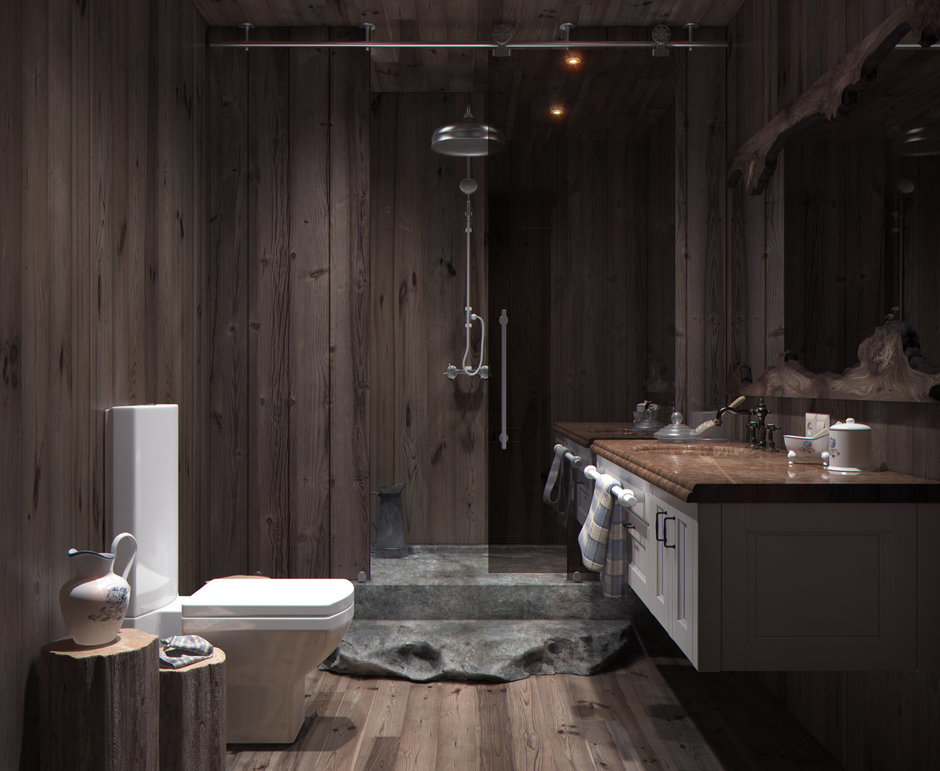 Фотография: Ванная в стиле , Квартира, Дома и квартиры, Перепланировка, Переделка – фото на InMyRoom.ru