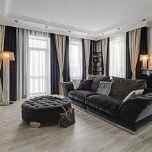Фотография: Гостиная в стиле Современный, Классический, Квартира, Цвет в интерьере, Дома и квартиры, Белый, Ар-деко – фото на InMyRoom.ru