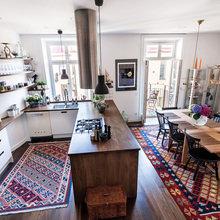 Фото из портфолио Великолепная двухуровневая квартира – фотографии дизайна интерьеров на InMyRoom.ru