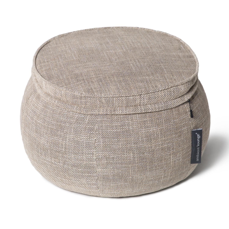 Бескаркасный пуф Ambient Lounge Wing Ottoman™ - Eco Weave (бежевый)