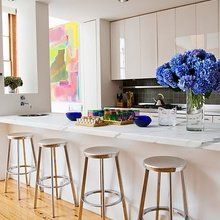 Фотография: Кухня и столовая в стиле Минимализм, Малогабаритная квартира, Квартира, Декор, Советы – фото на InMyRoom.ru