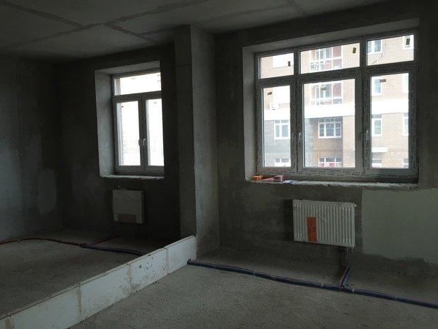 Проект квартиры 55м2 для семьи с ребёнком