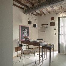 Фотография: Кабинет в стиле Кантри, Цвет в интерьере, Дома и квартиры, Городские места, Отель – фото на InMyRoom.ru