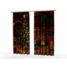 Новогодние шторы: Праздничный уют