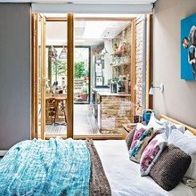 Фотография: Спальня в стиле Лофт, Квартира, Дома и квартиры, Лондон – фото на InMyRoom.ru