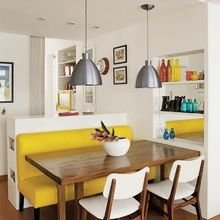 Фотография: Кухня и столовая в стиле Современный, Квартира, Мебель и свет, Советы – фото на InMyRoom.ru