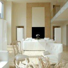 Фотография: Гостиная в стиле Эклектика, Дом, Цвет в интерьере, Дома и квартиры, Белый – фото на InMyRoom.ru