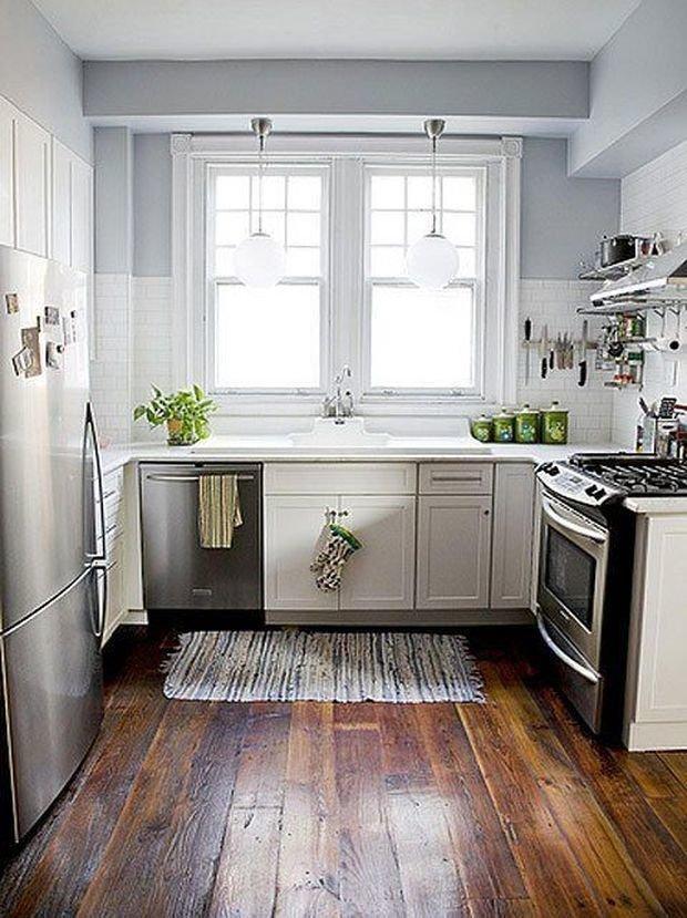 Фотография: Кухня и столовая в стиле Скандинавский, Декор интерьера, Малогабаритная квартира, Квартира, Планировки, Декор, Хрущевка – фото на INMYROOM