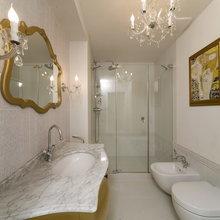Фото из портфолио Белое с серебром – фотографии дизайна интерьеров на INMYROOM