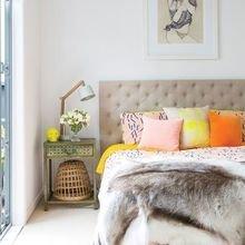Фотография: Спальня в стиле Кантри, Декор интерьера, Текстиль, Декор, Текстиль – фото на InMyRoom.ru