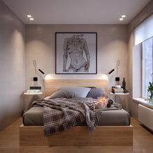 Фото из портфолио Ушаковская набережная - квартира 50 кв.м – фотографии дизайна интерьеров на INMYROOM