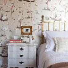 Фотография: Спальня в стиле Кантри, Эклектика, Квартира, Дома и квартиры, Бразилия – фото на InMyRoom.ru