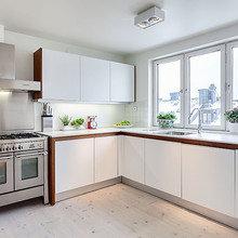Фотография: Кухня и столовая в стиле Скандинавский, Квартира, Мебель и свет, Дома и квартиры – фото на InMyRoom.ru