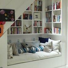 Фотография: Детская в стиле Кантри, Советы, Бежевый, Серый, Мебель-трансформер, кровать-трансформер, диван-кровать – фото на InMyRoom.ru